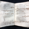 Opening of Lecons de Mineralogie showing notes by James Smithson