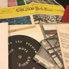 S.M.S. no. 2 open portfolio showing Marcel Duchamp's playable record