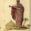 A signare, or woman of color in St. Louis, Senegal