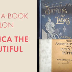 Adopt-a-Book Salon: America the Beautiful with images of book covers