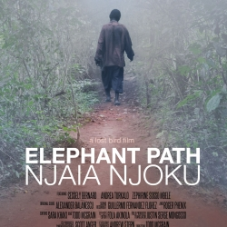 Elephant Path - Njaia Njoku poster with quote