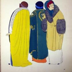 Les robes de Paul Poiret racontées par Paul Iribe