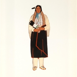 North American Indian costumes (1564-1950) v. 2