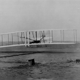 Wright Brothers First Flight at Kitty Hawk