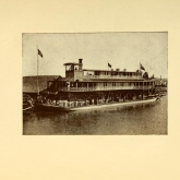 photograph of a ferry from Around the Caribbean and across Panama