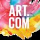 Art.com logo image