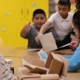 Image: DC Public School Students Exploring Museum in a Box