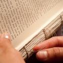 Binding of a book