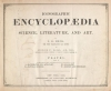 "Cover of ""Iconographic encyclopaedia of science, literature, and art"""
