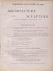 Cover of L'architecture & la sculpture à l'Exposition de 1900 v. 3