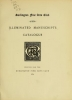 Cover of Burlington club catalogues, 1868-1896