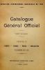 Cover of Catalogue général officiel t. 10
