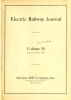 """Cover of """"Electric railway journal"""""""