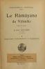 """Cover of """"Le Râmâyana de Vâlmîki /"""""""