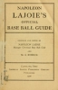 Cover of Napoleon Lajoie's official base ball guide