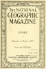 Cover of The National geographic magazine