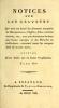 Cover of Notices sur les graveurs qui nous ont laissé des estampes marquées de monogrammes, chiffres, rébus, lettres initiales, etc., avec une description d