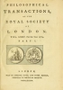 Cover of Philosophical transactions of the Royal Society of London v. 74 (1784)