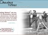 Chasing Venus- Observing the Transits of Venus 1631-2004