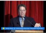 James Neal at the podium