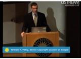 William F. Patry at the podium