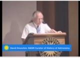 David Devorkin at the podium