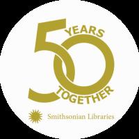 Smithsonian Libraries 50th Anniversary Logo