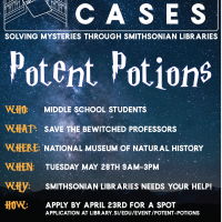 Book Cases Mystery Event- Potent Potions