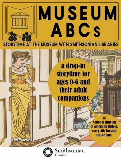 Flyer for Museum ABCs early childhood program