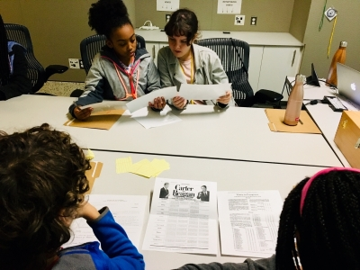 Students uncover clues in Nov 6 Strange Things mystery event